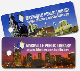 Nashville Public Library Card Images