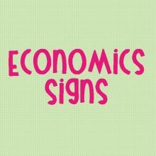 Economics Signs