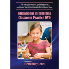 Educational Interpreting Practice DVD 5: Elementary Level