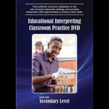 Educational Interpreting Practice DVD 6: Secondary Level