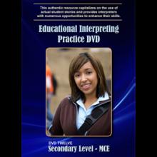 Educational Interpreting Practice, Secondary Level- MCE, DVD 12