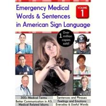 Emergency medical words & sentences in American Sign Language