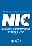 NAD-RID National Interpreter Certification Interview & Performance Practice DVD