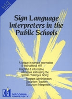 Sign Language Interpreters in the Public Shools