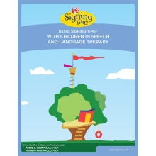 Using Signing Time With Children in Speech and Language Therapy